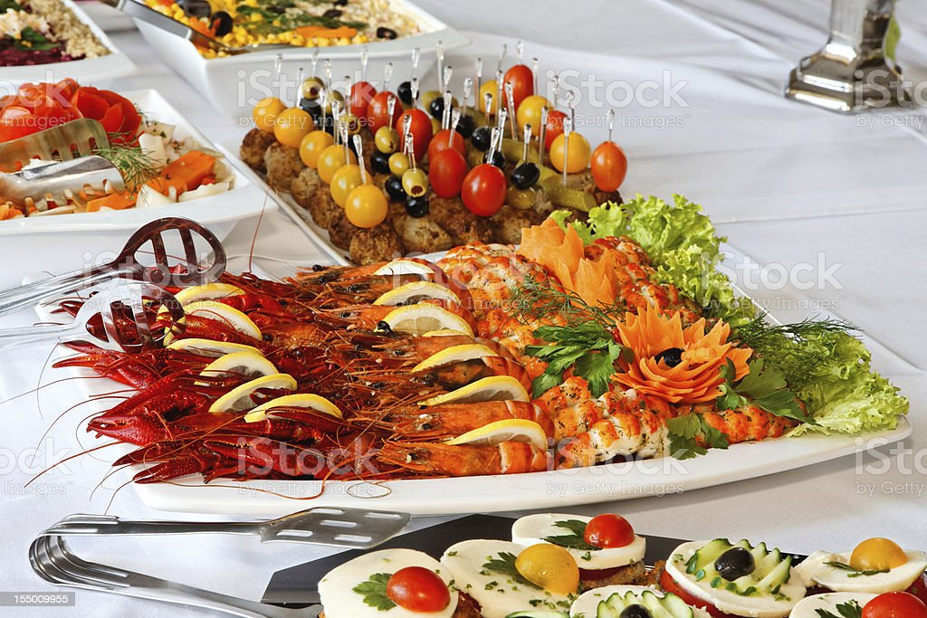 Cold buffet. royalty-free stock photo