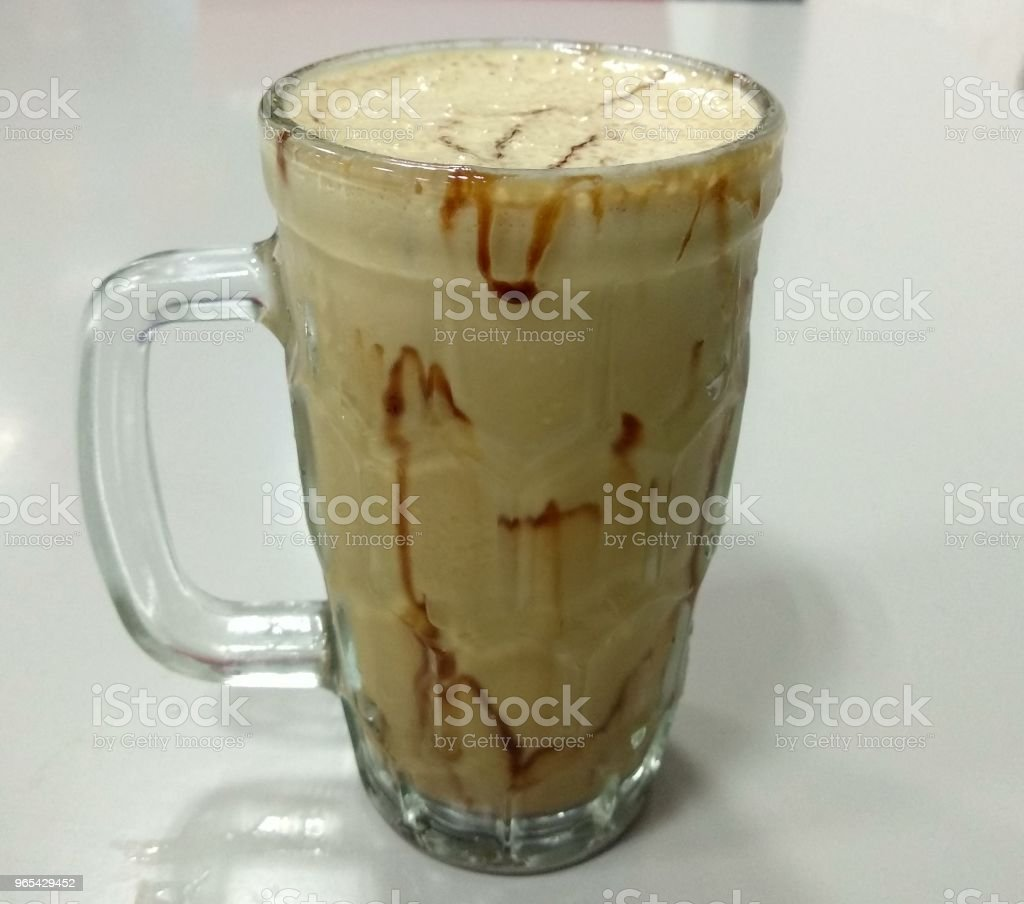 Cold coffee - India royalty-free stock photo