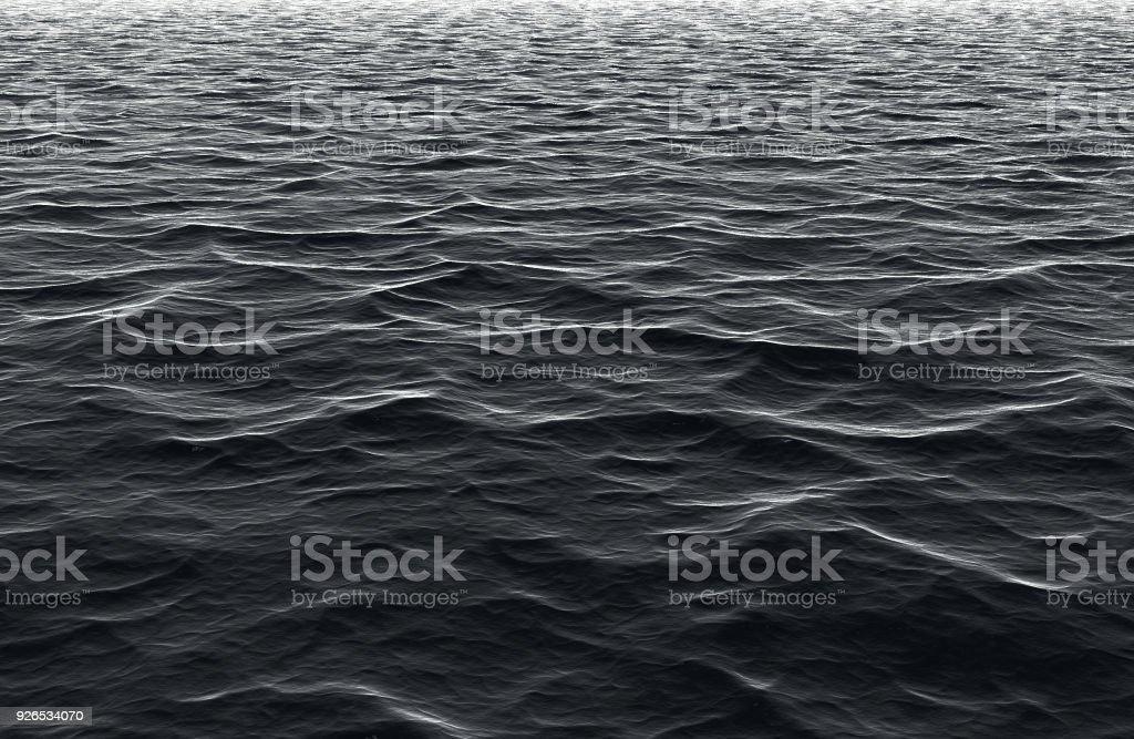 Kalte dunkle Meer – Foto