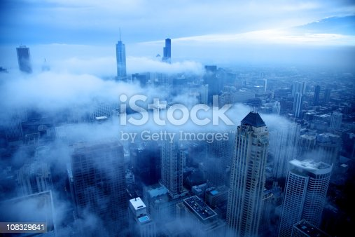 istock Cold day in Chicago 108329641
