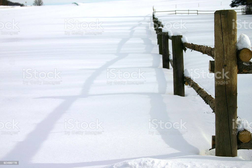 Cold days 17 royalty-free stock photo