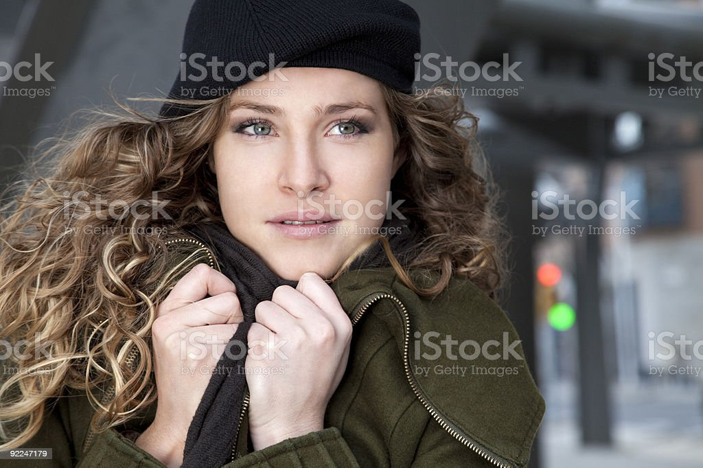 Cold days stock photo