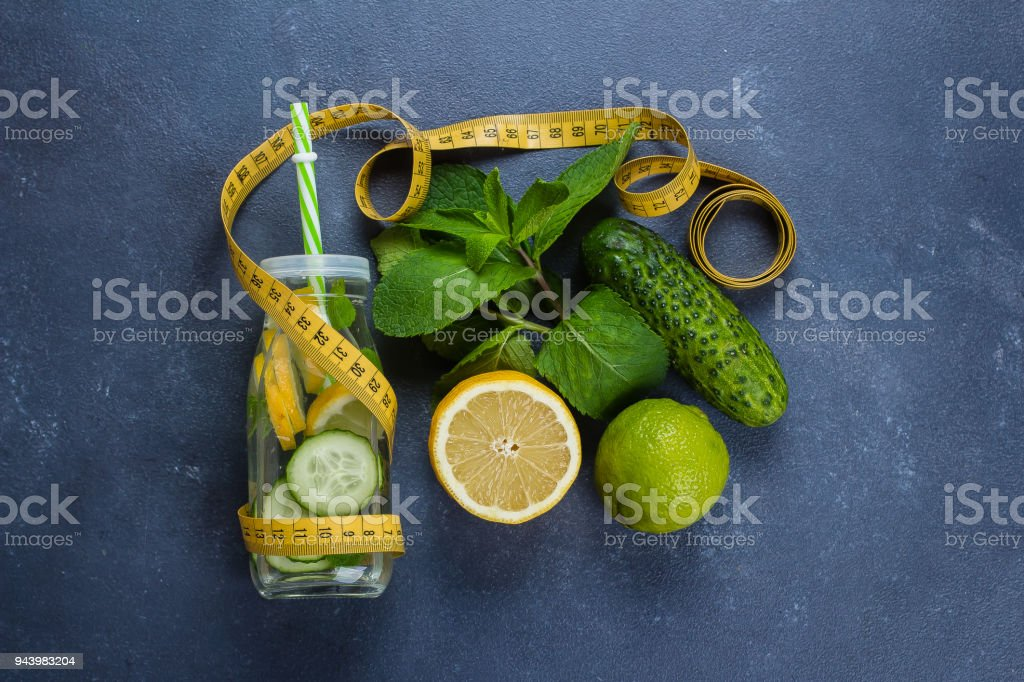 media istockphoto com/photos/cold-detox-water-with