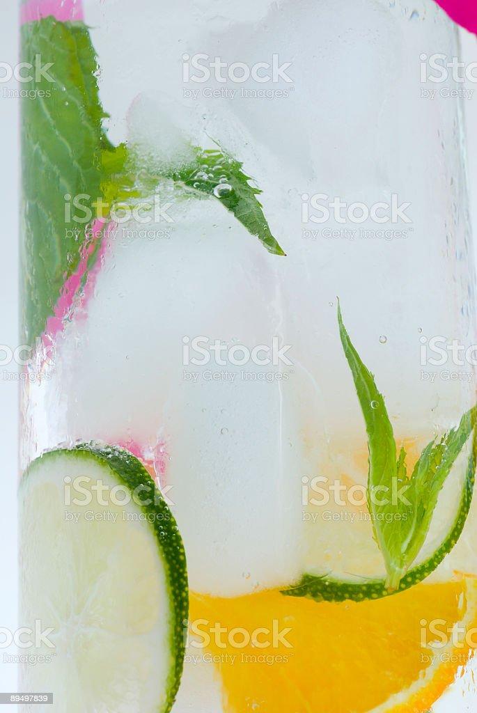 Cold drink royaltyfri bildbanksbilder