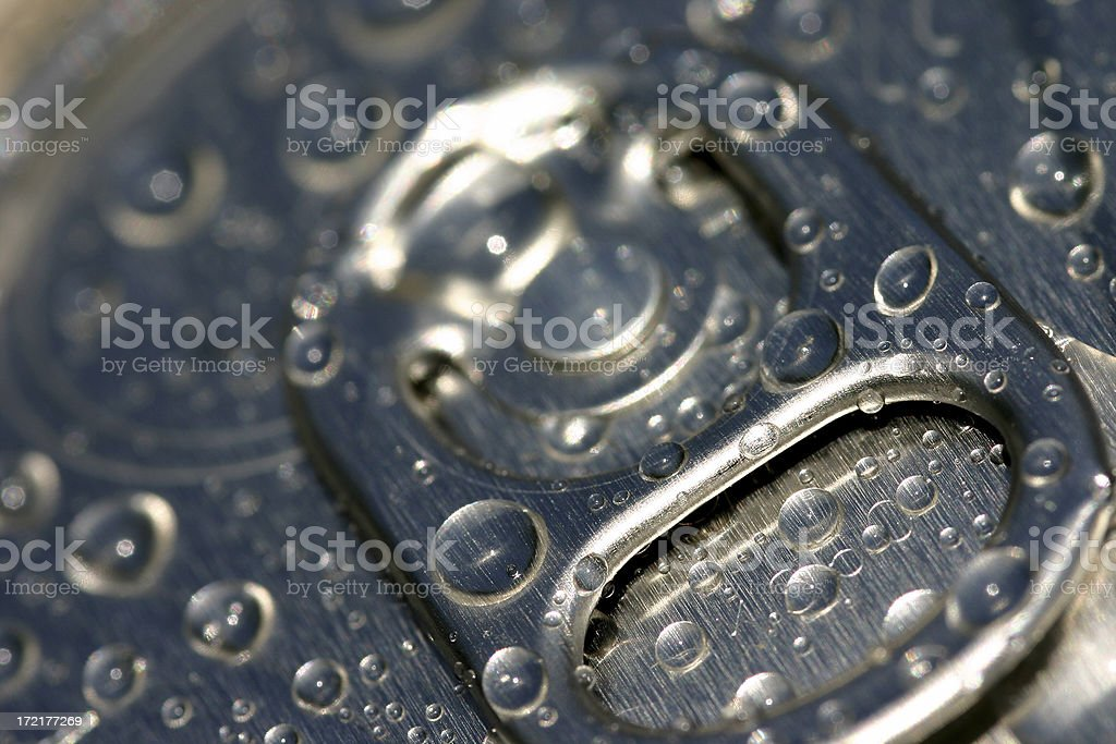 Cold Drink Tab stock photo
