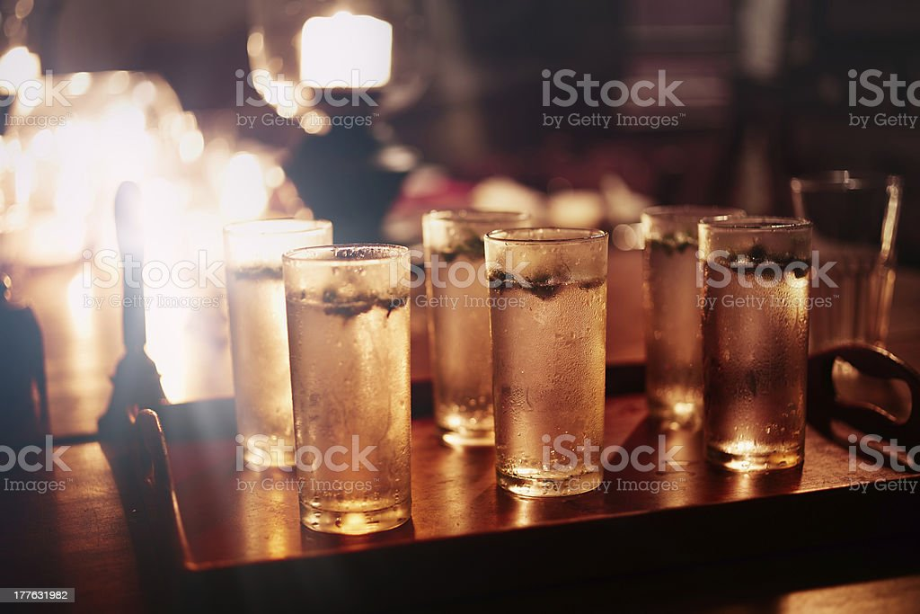 Cold drinks royalty-free stock photo