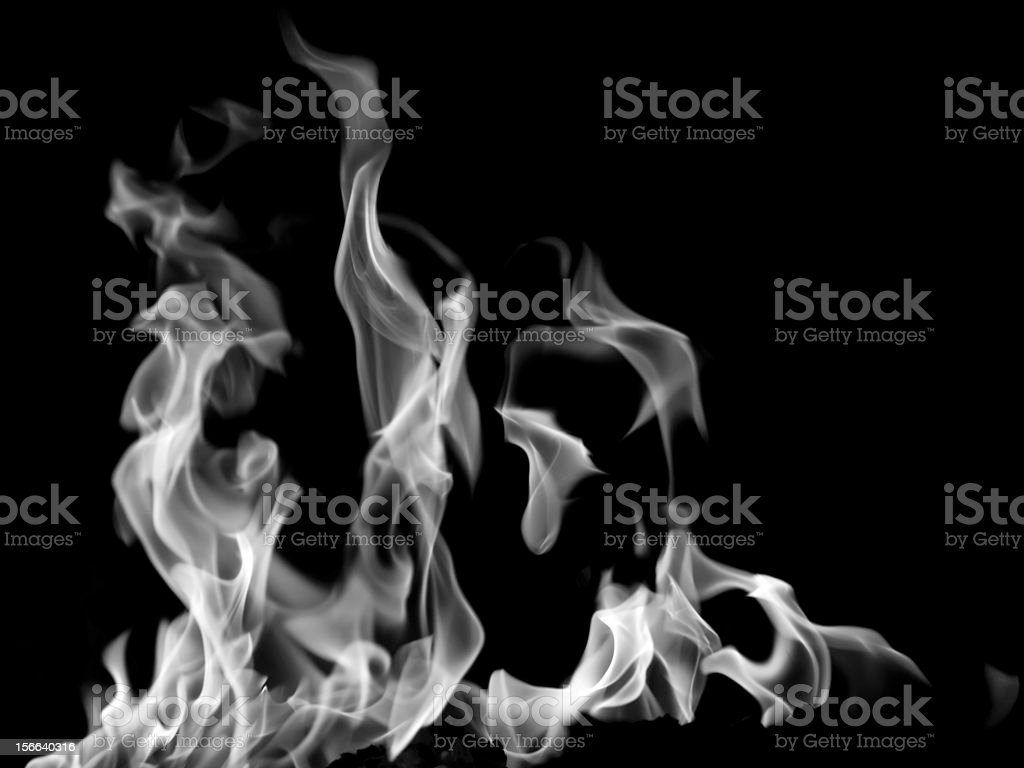cold flame royalty-free stock photo