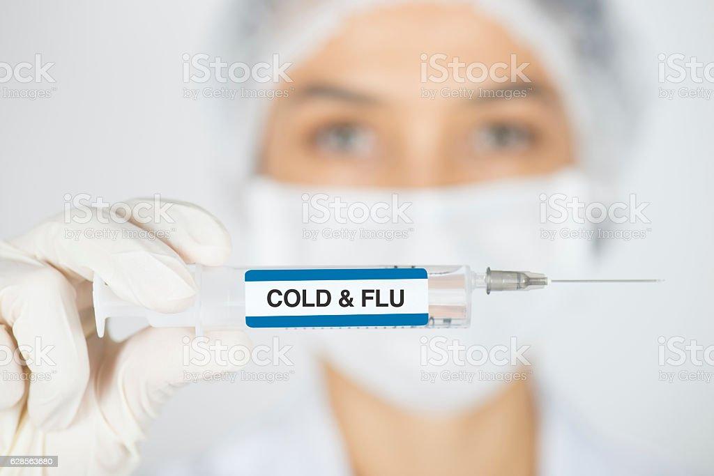 Cold & Flu stock photo