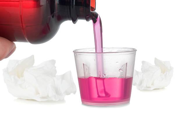 Cold & Flu Remedy stock photo