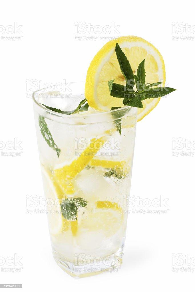 cold fresh lemonade royalty-free stock photo