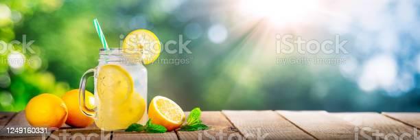 Photo of Cold Glass Of Lemonade