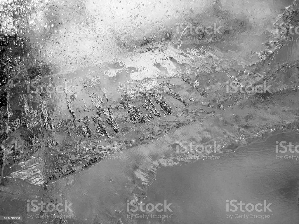 Cold ice royalty-free stock photo