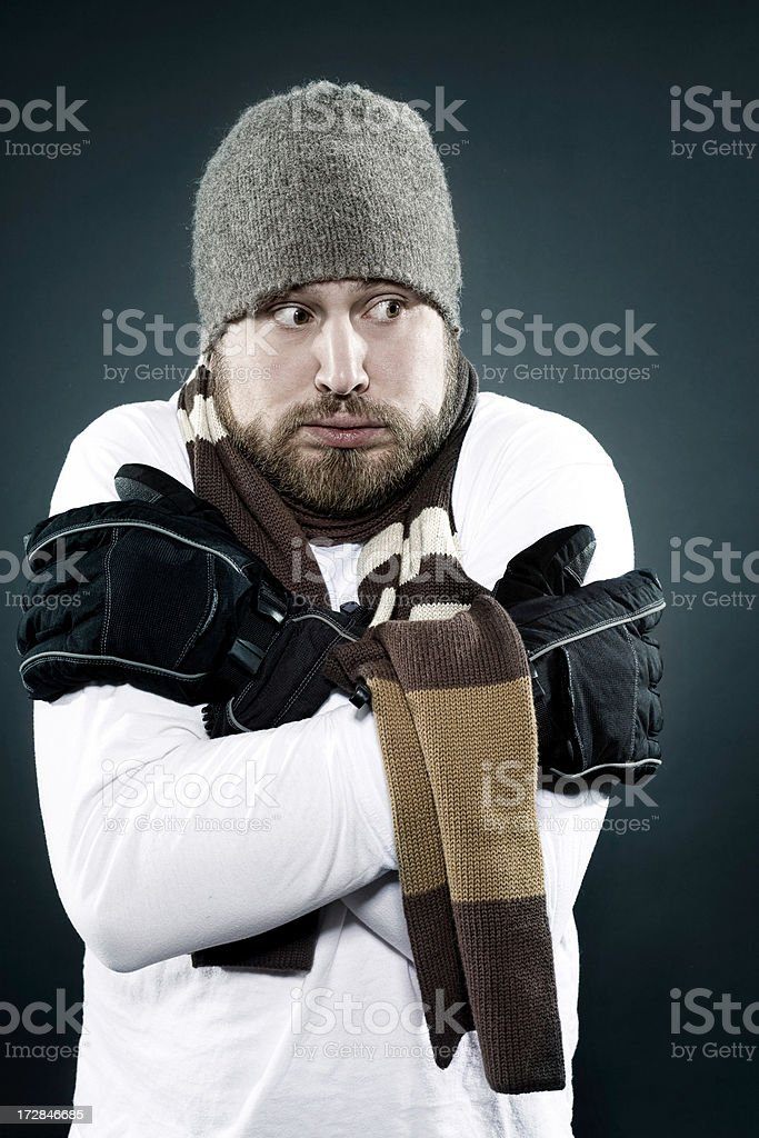 cold inside royalty-free stock photo