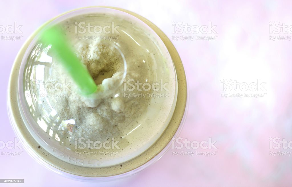 cold late coffee royalty-free stock photo