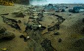 Cold lava path