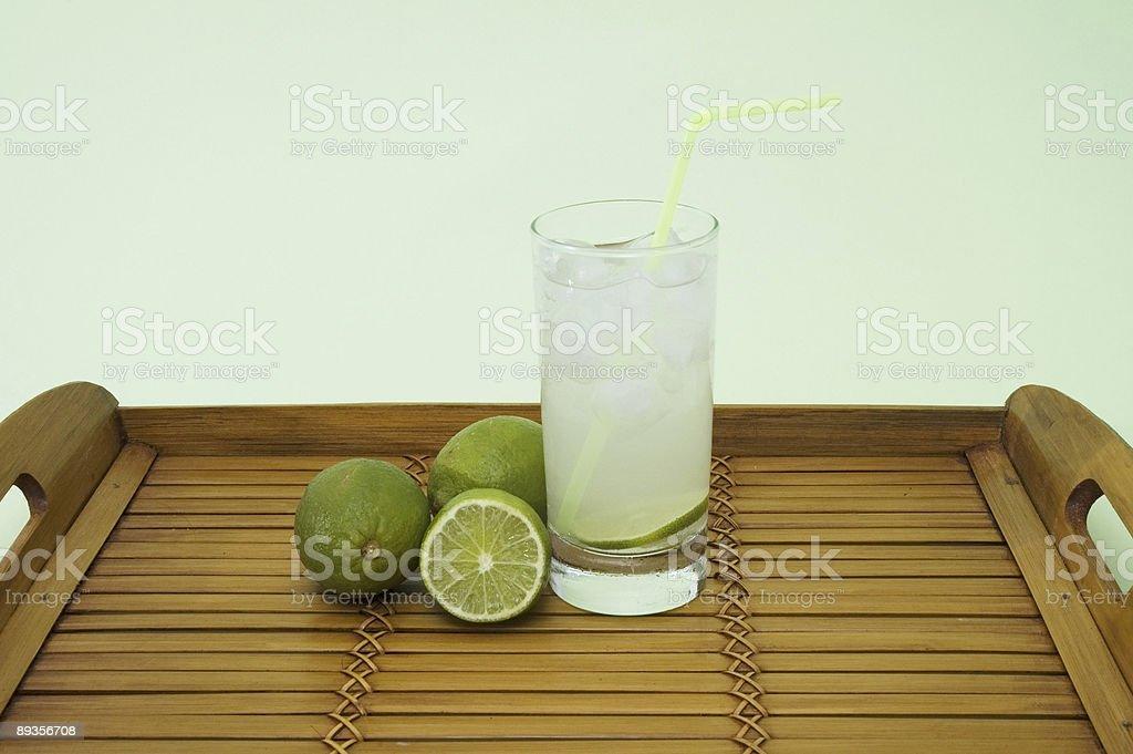 Cold lemonade royaltyfri bildbanksbilder
