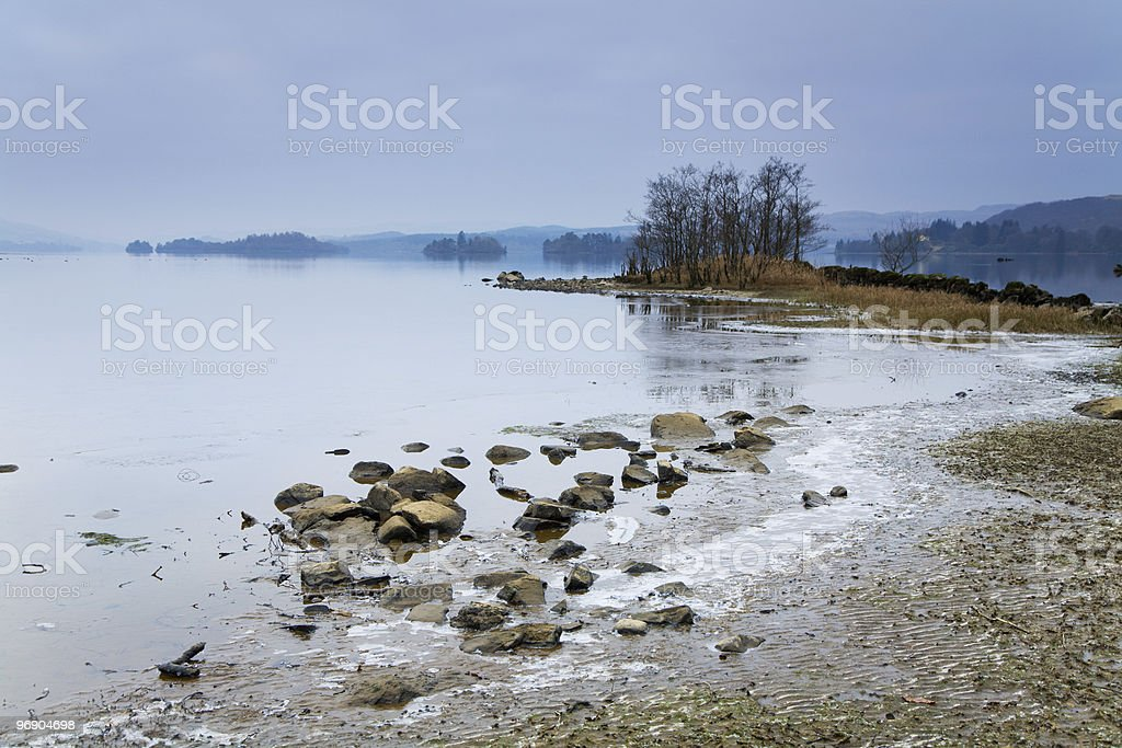 cold loch royalty-free stock photo