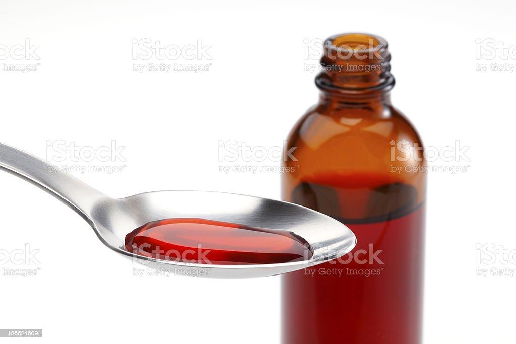 Resfrío medicamento - foto de stock