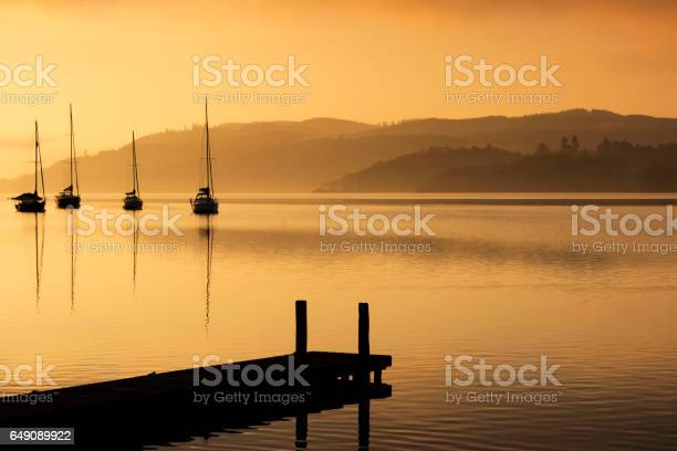Photo of Cold Morning on the Lake Windermere