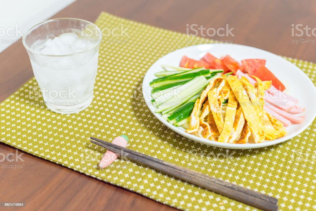 Cold Noodle Salad foto stock royalty-free