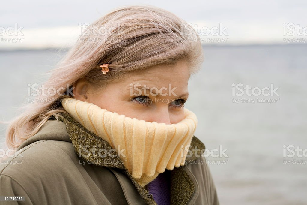 Cold! royalty-free stock photo