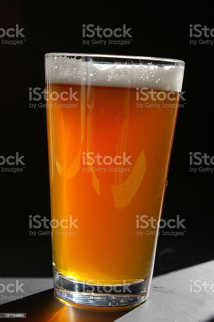 Cold pint royalty-free stock photo