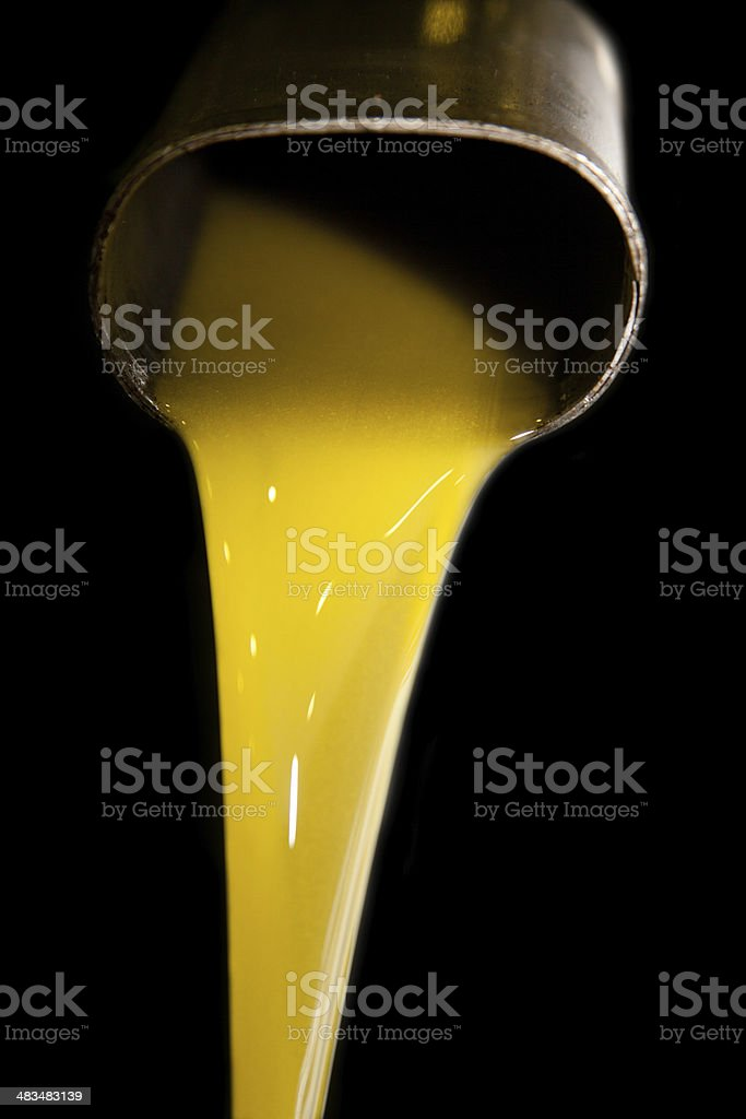 cold pressed olive oil stock photo