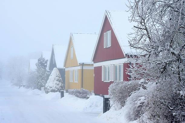 Cold Real Estate Market bildbanksfoto
