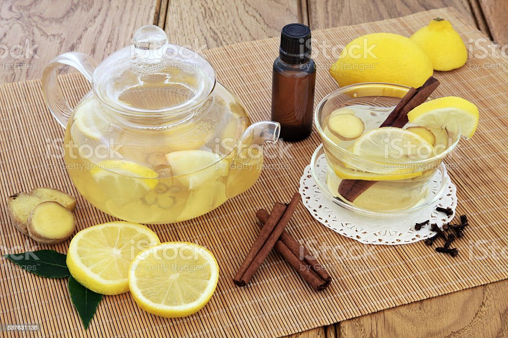 Cold Remedy Drink stock photo