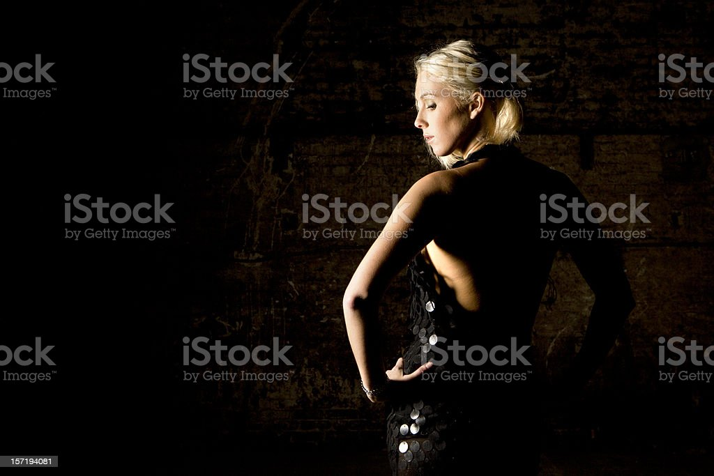 cold shoulder royalty-free stock photo