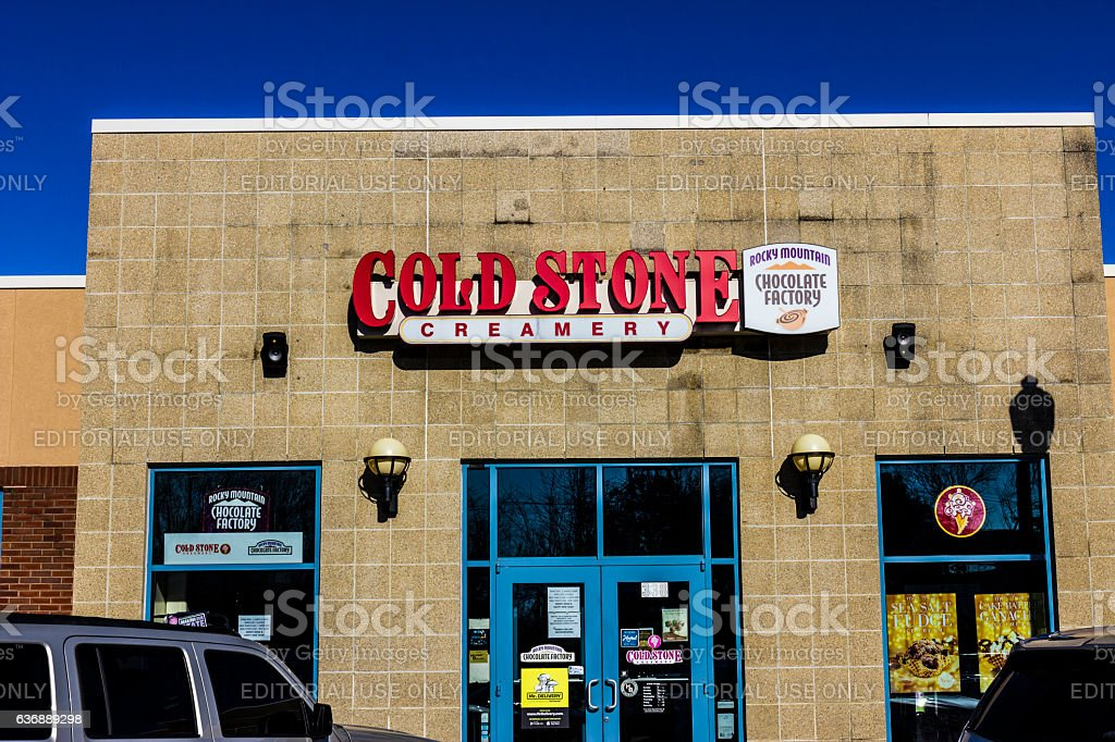 Cold Stone Creamery Ice Cream Parlor Location II stock photo