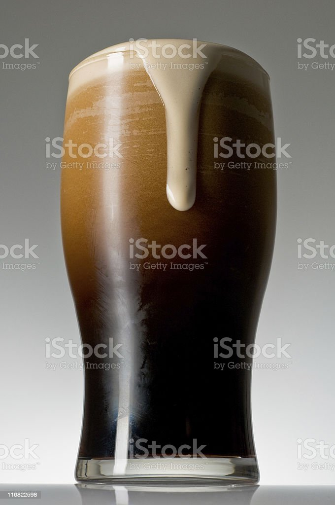 Cold Stout Run Over stock photo
