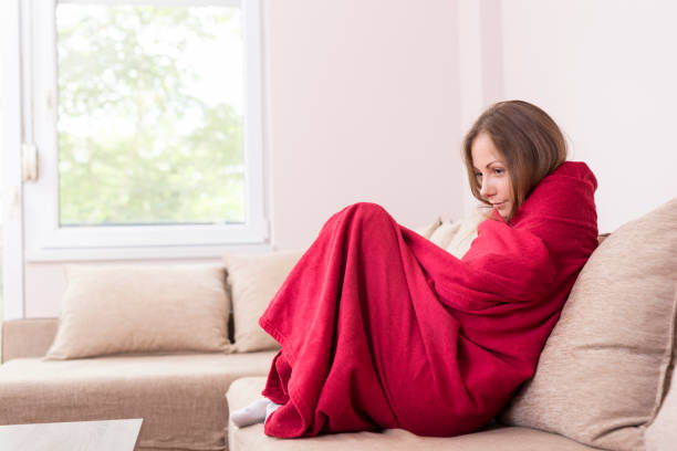 風邪の症状 ストックフォト