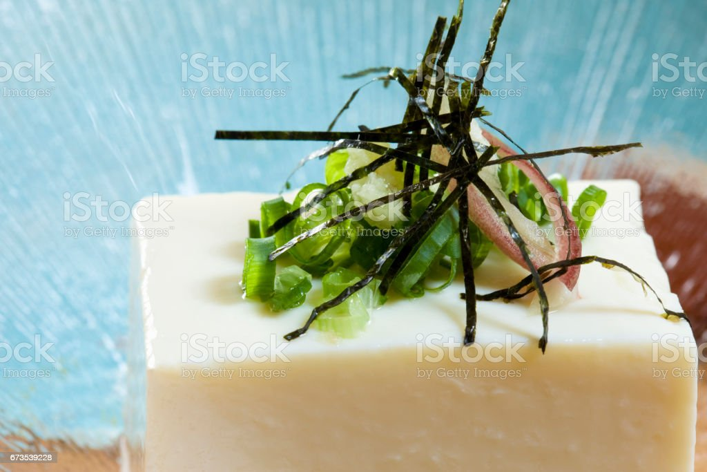Cold tofu royalty-free stock photo