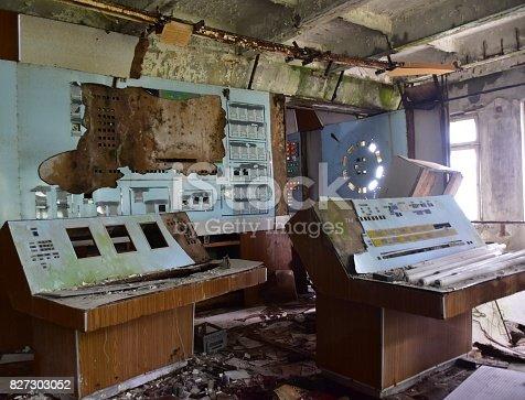istock Cold War Duma RADAR Station Chernobyl 827303052