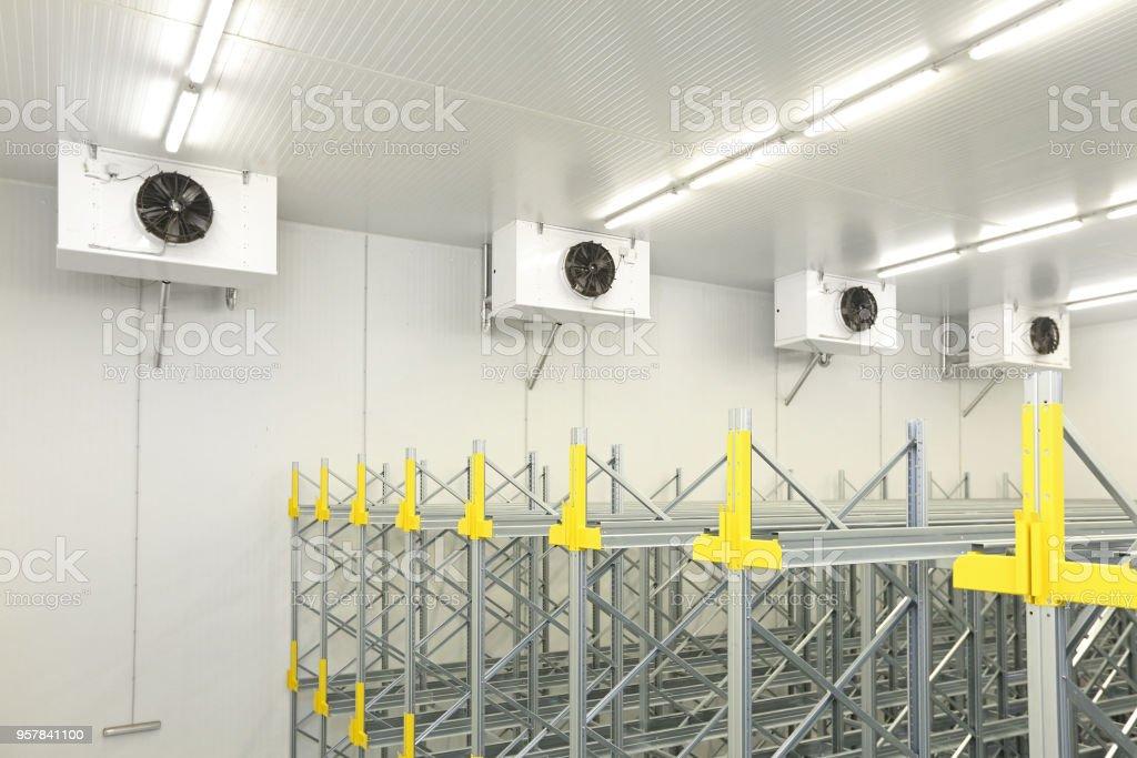 Cold Warehouse stock photo