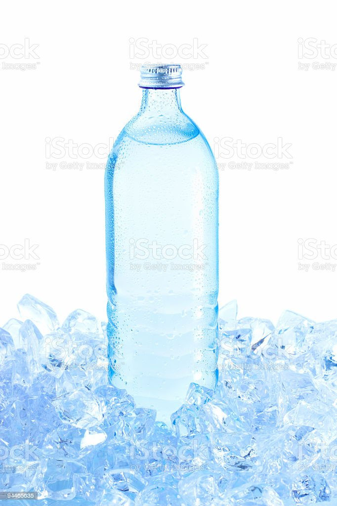 cold water bottle royalty-free stock photo