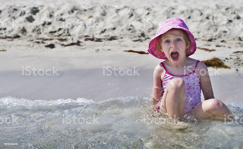 Cold water! royalty-free stock photo
