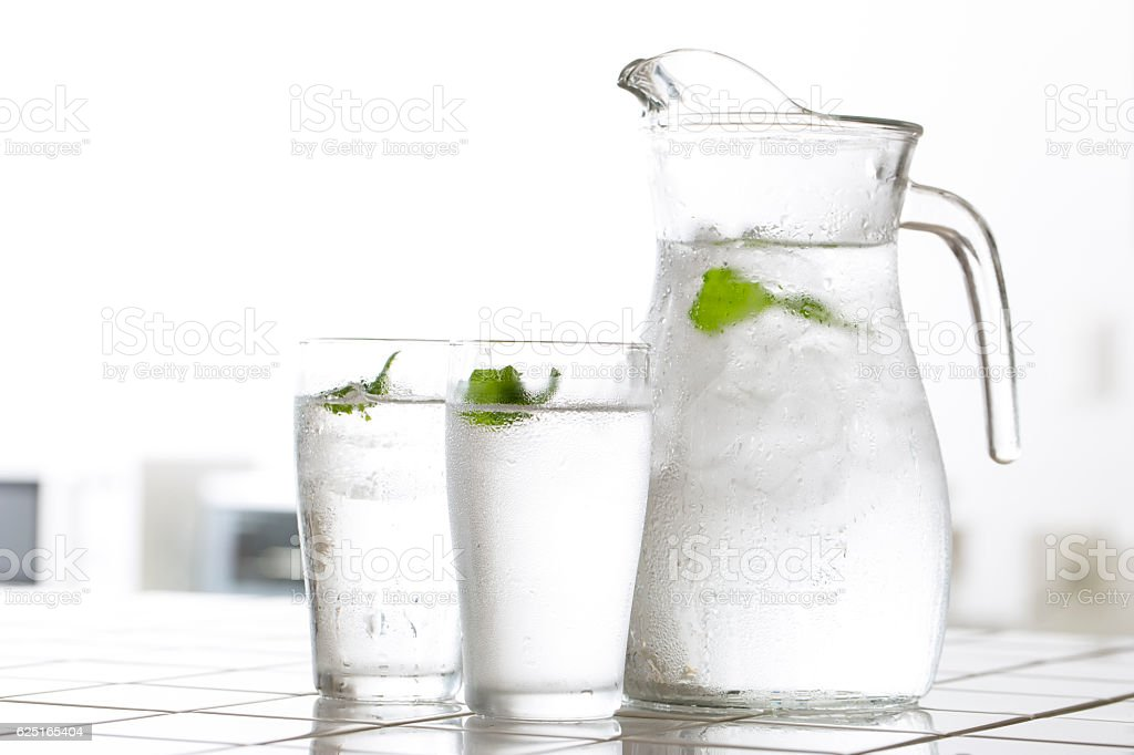 Cold water stock photo
