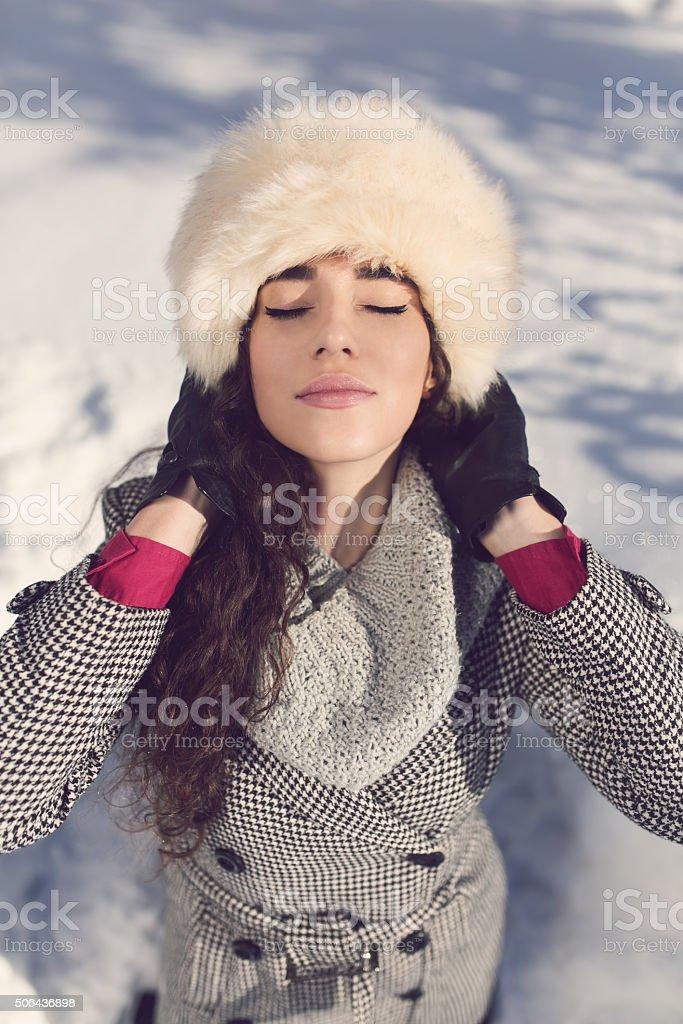Zimna pogoda Moda – zdjęcie