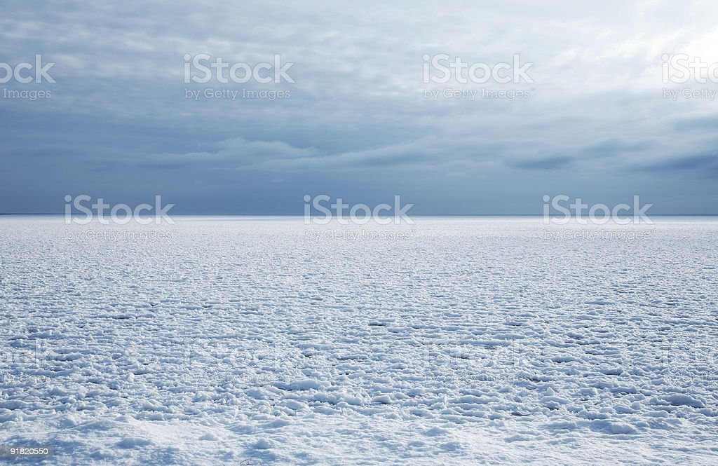 cold winter stock photo