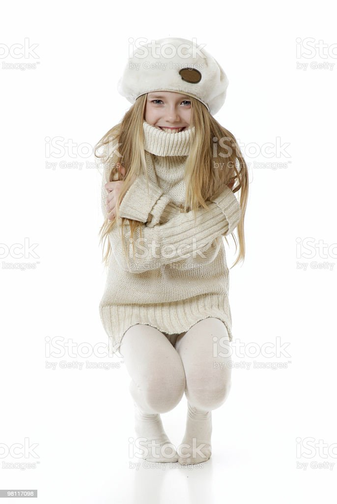 Coldly! royalty-free stock photo