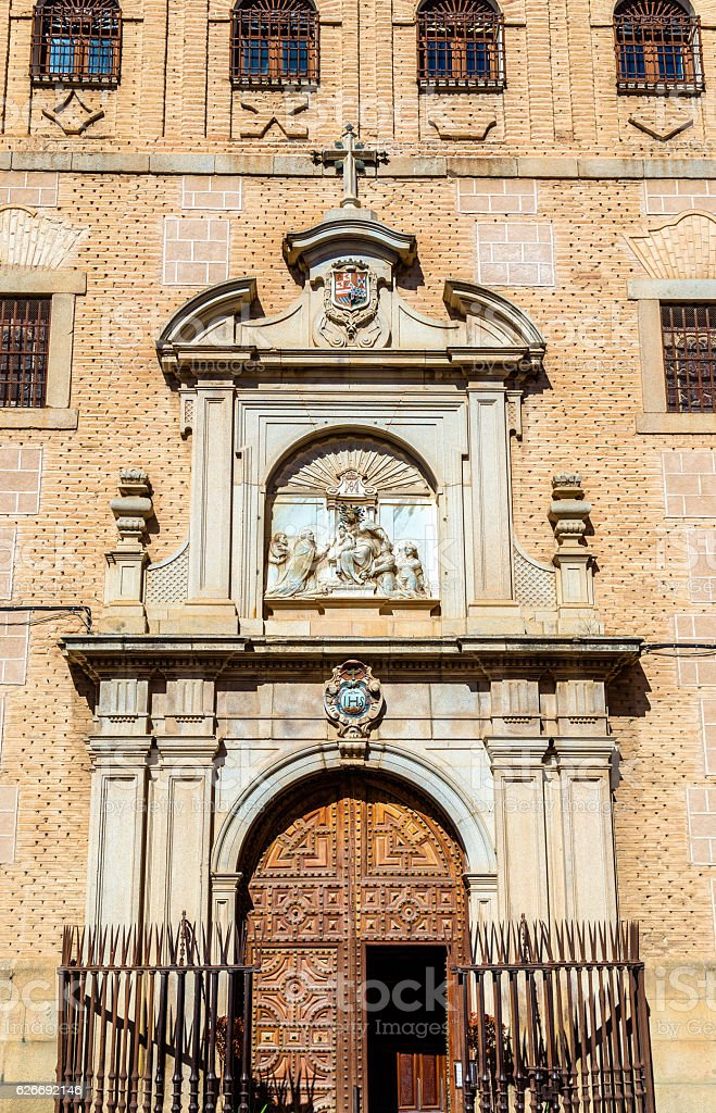 Colegio de Doncellas Nobles, a school for girls founded in stock photo