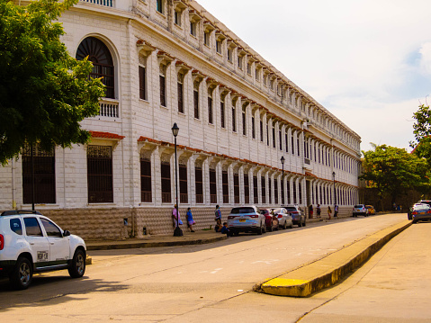 Colegio Salesiano in Old Town Cartagena - Colombia