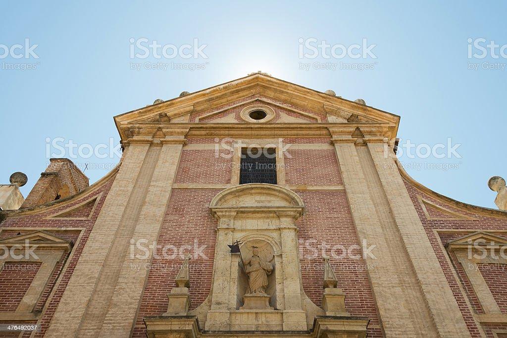 Colegio-Convento de San José Caracciolos, Alcalá stock photo