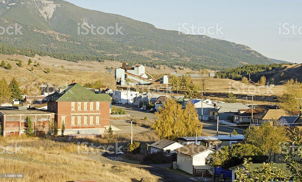 Coleman... Abandoned Coal Mine stock photo