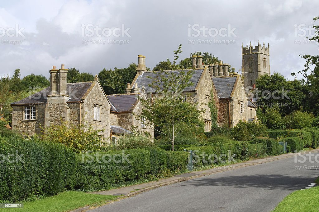 Coleshill, Oxfordshire, England royalty-free stock photo