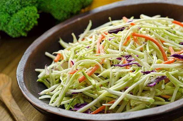coleslaw - coleslaw stock pictures, royalty-free photos & images