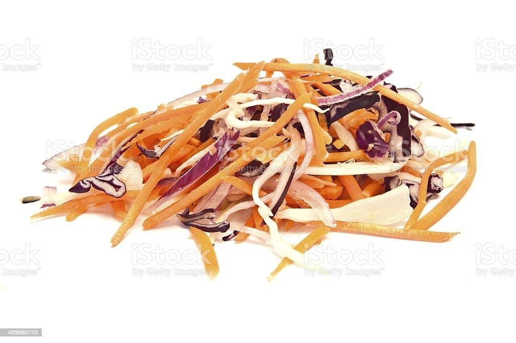 Coleslaw stock photo