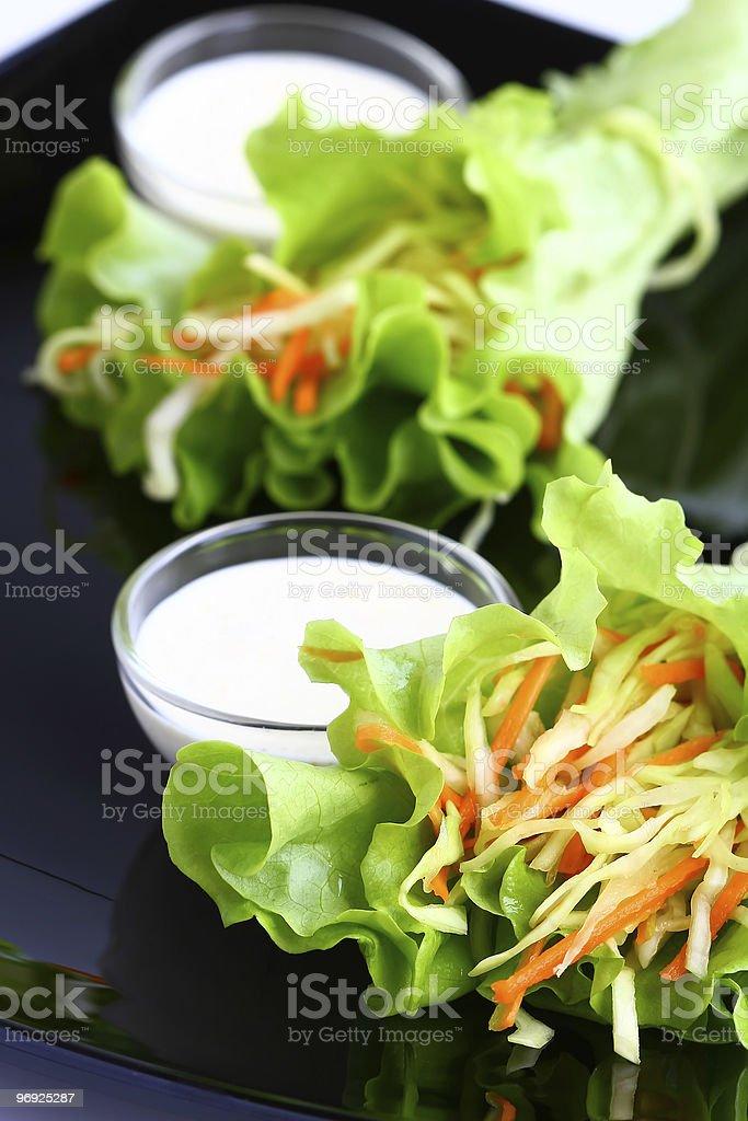 coleslaw royalty-free stock photo